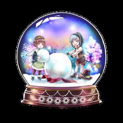Snow globe commission 2