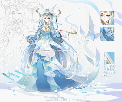 [CLOSED] Xue Long frozen dragon_Heby x SKF collab!