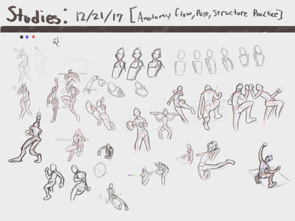 Studies 4: Anatomy, Flow, Pose, Structure Practice by 0uterHaven on ...