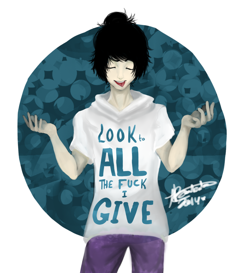 LOOK to ALL the F***  I give by Hope-chan00