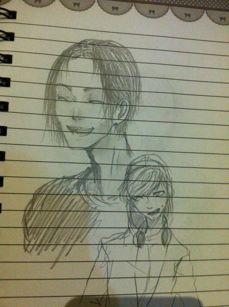 More school scribbles by Hope-chan00