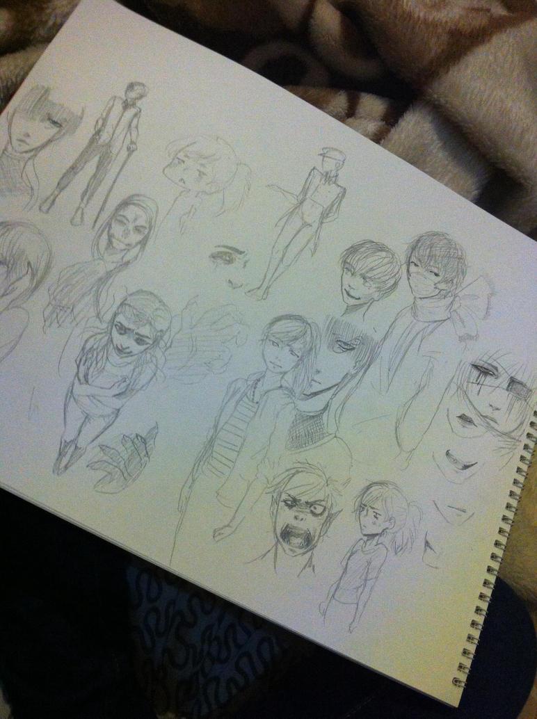 Sketch dump by Hope-chan00