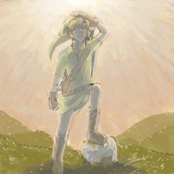 Legend of zelda - link by Hope-chan00