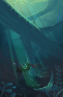 Sunken Giants by Karijinni