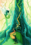 [Chapter 1] - Espe breaks the shrine by Karijinni