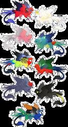 [OPEN] Parrot Dragon Adopts