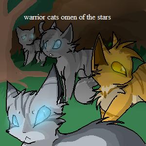 warrior cats omen of the stars by Ellathegrayeevee