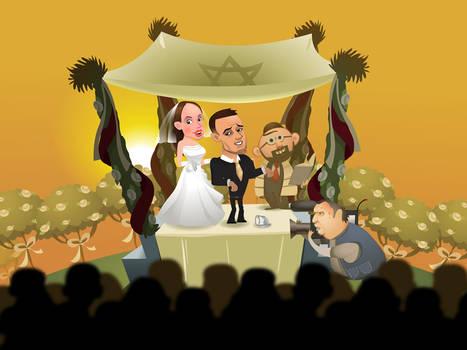 'The wedding' end scene