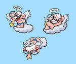 Cloud Angel Kid
