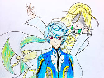 Mikleo and Innominat Colored