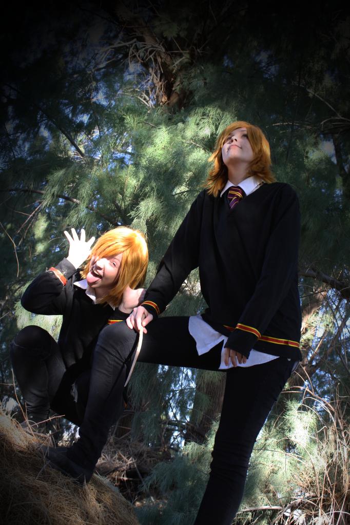 Weasley Pranksters by amberapocalypse