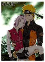 narusaku its all over by noodlemie