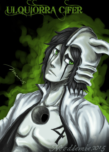 ulquiorra schifer by noodlemie