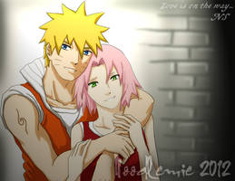 NaruSaku :love is on the way