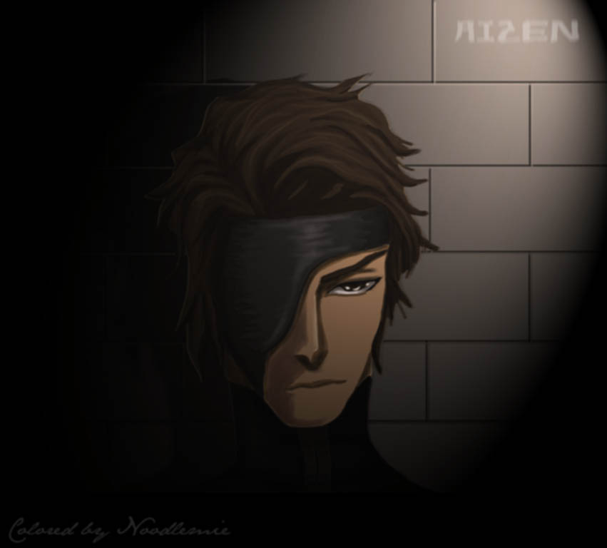 Aizen in the darkness by noodlemie