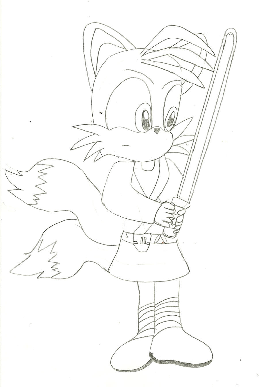 tails luke skywalker by deitz94 on deviantart