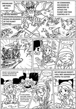 Kirby Princess of Dream Land comic Page-1