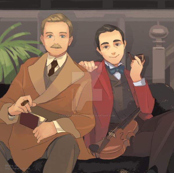 Lenfilm (Russian) Sherlock Holmes and Dr. Watson by HAHAAAAAAAAAAAA