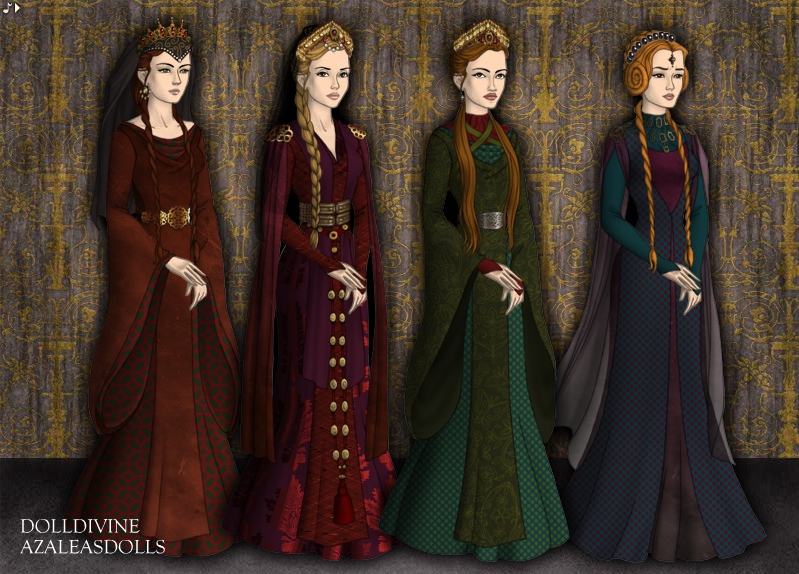 Medieval Queens By May-May44 On DeviantArt
