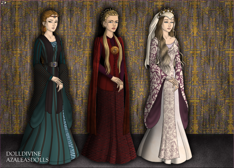 Medieval Queens II By May-May44 On DeviantArt