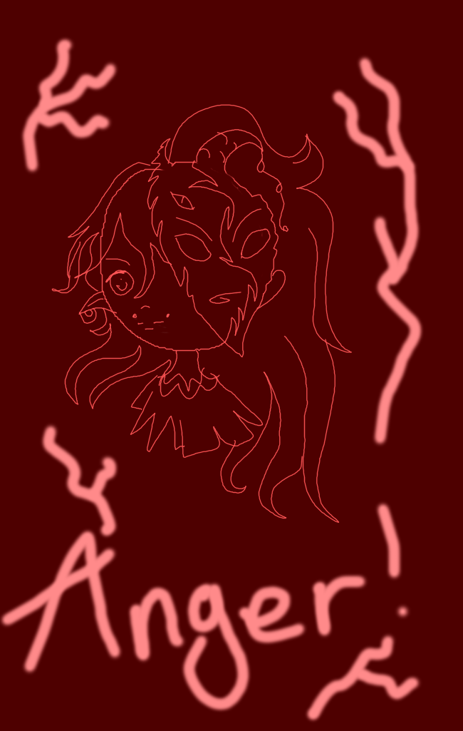 Emotion Series-Anger. by blissfulangel1994