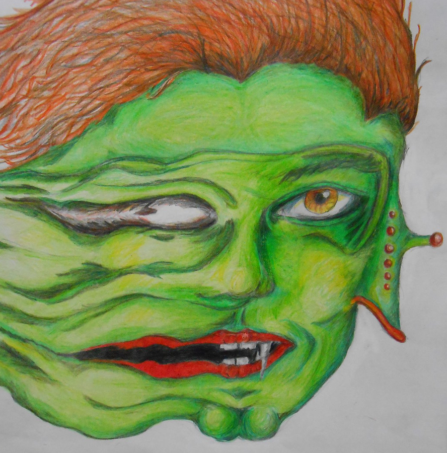 Melting Face by Rhelna