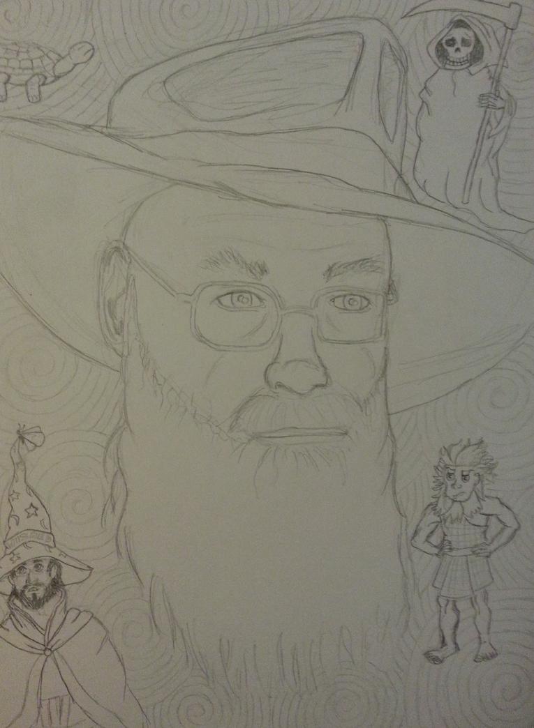Sir Terry Pratchett - Rest in Peace by Rhelna