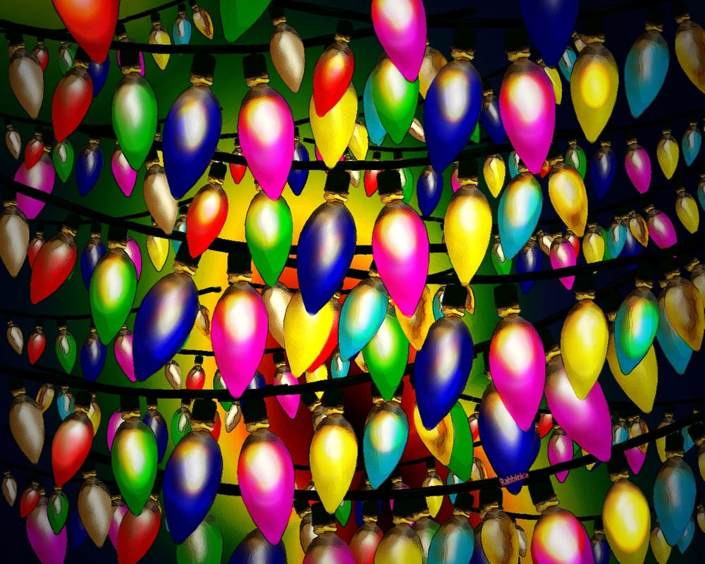 Xmas Lights by rabbitica