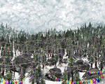Christmas Forest (For Monika)