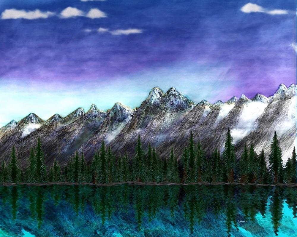 Emerald Lake by rabbitica