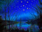 Blue Dreamland by rabbitica