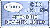 Comic Convention Listing by Comicslist