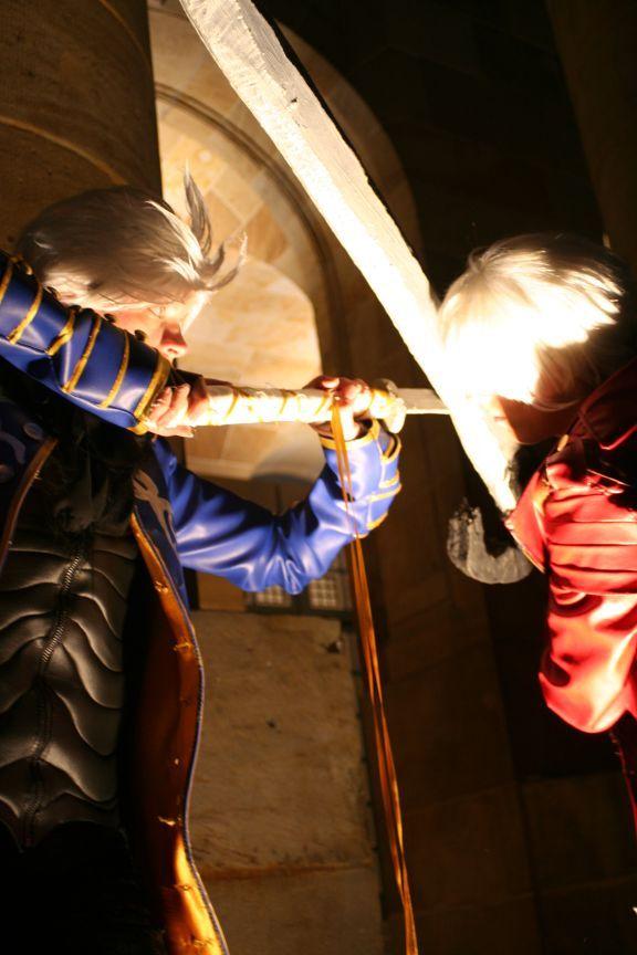 Dante+Vergil- Brotherly love