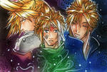 Cloud Strife- Pieces of me