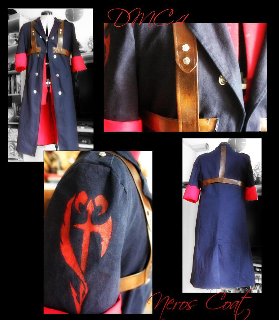 DMC4-Nero Cosplay Coat