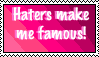 Haters Make Me Famous by Stitchlovergirl96