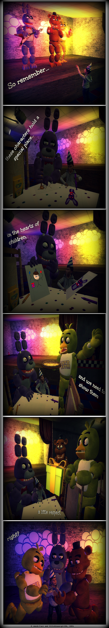 FNaF: Beloved Characters by Stitchlovergirl96