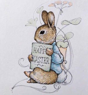 Easter Greetings from Peter Rabbit