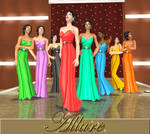 Sims 2 - Vivid long dresses