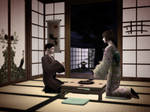 The tea room - Sims