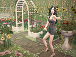 Welcome to my garden - Sims