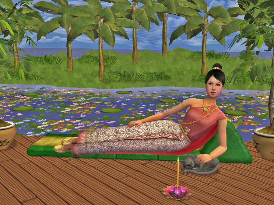 Thai lady - Sims