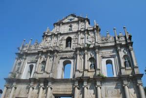 Ruin of St Paul