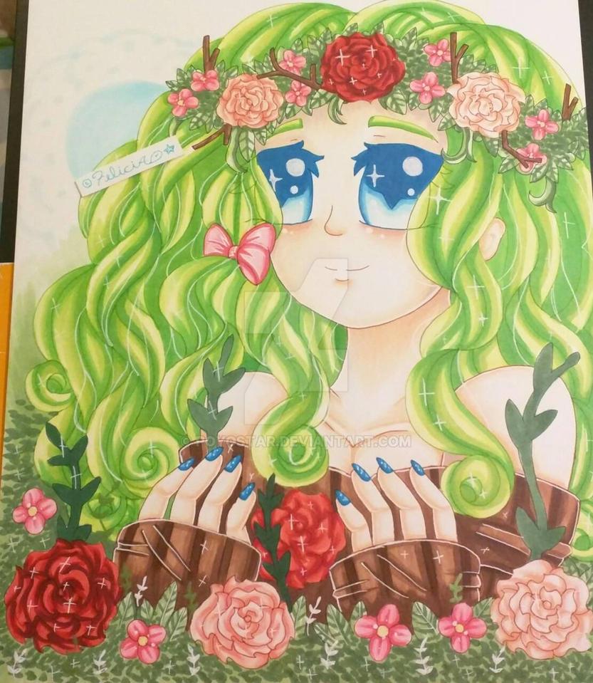 Rose Girl by Felicia64anime