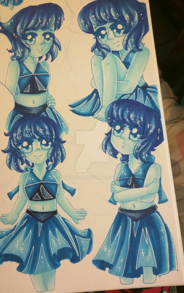 Lapis doodles by Felicia64anime