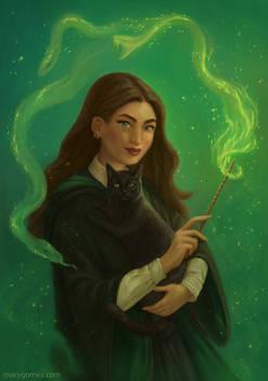 Snake spell (Slytherin)