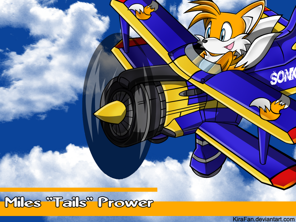 Tails and the Tornado 2 by KiraFan