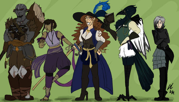Dungeons and Dragons Characters 3