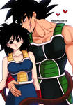 Bardock and Gine.