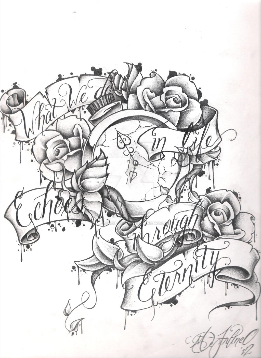 life death tattoo quotes